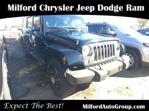 Certified Pre-Owned 2016 Jeep Wrangler
